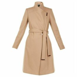 Ted Baker Sandra Wool Cashmere Blend Wrap Coat