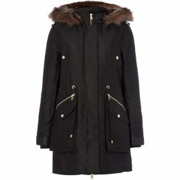 Guess Military Style Parka Jacket