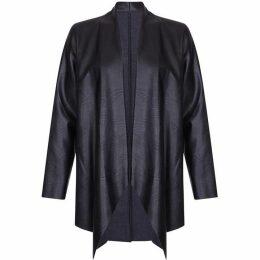 Mela Faux Leather Jacket