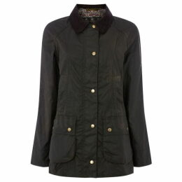 Barbour Lifestyle Liberty Print Harriet Wax Coat