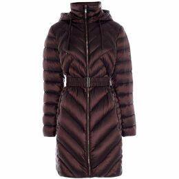 Karen Millen Packable Longline Puffer Jacket