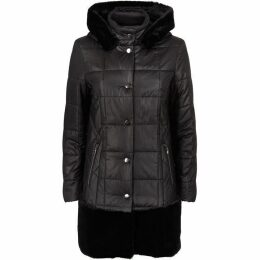 James Lakeland Faux Fur Puffa Coat