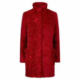 James Lakeland Faux Fur Teddy Coat