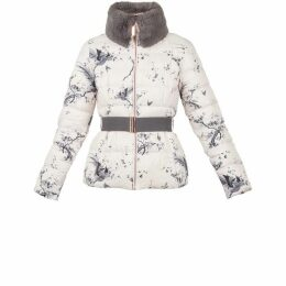 Ted Baker Ameyy Orient Printed Down Jacket