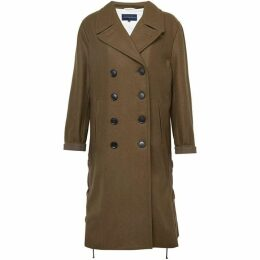 French Connection Wool Melton Peacoat