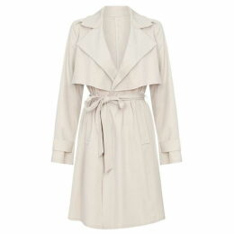 Yumi Wrap Front Trench Coat