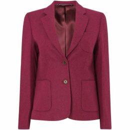 Gant Button Up Wool Twill Blazer