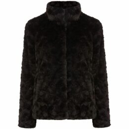 Oasis Twisty Short Fur Coat