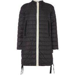 Max Mara Weekend Fulvia long quilted jacket