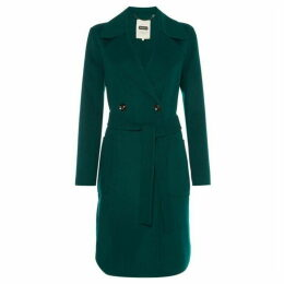 Part Two Isolde wrap wool coat