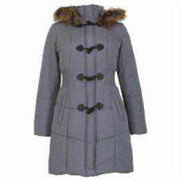 David Barry Womens Warm Padded Parka Coat