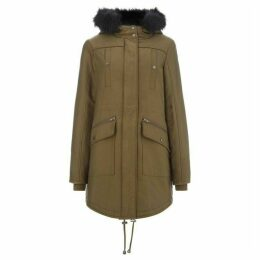 Label Lab Elvira sporty parka with faux fur