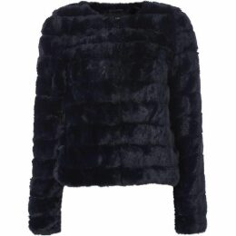 Vero Moda Avenue Faux Fur Short Coat