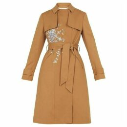 Ted Baker Graceful Embroidered Mac
