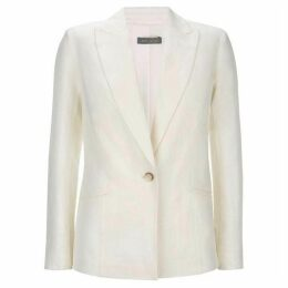 Mint Velvet Ivory Tailored Blazer