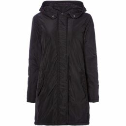 Maison Scotch Black parka coat