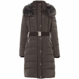 Phase Eight Brisa Long Side Stitch Puffer