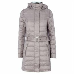 Barbour Lifestyle Braemar Long Quilted Coat With Hood