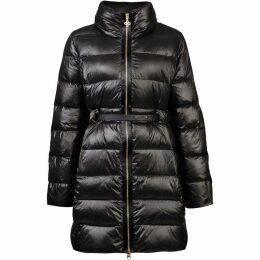 Carolina Cavour Ladies Down Winter Jacket With An Elegant Belt