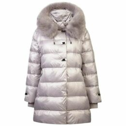 Carolina Cavour Ladies Down Winter Jacket With Faux Fur Hood