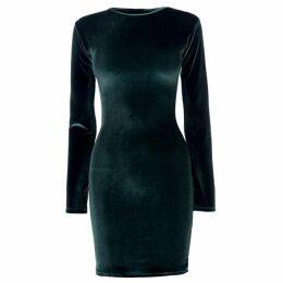 Firetrap Blackseal Velvet Dress