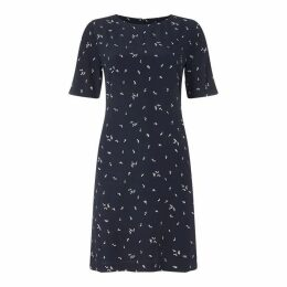 Gant Microflower Print Dress