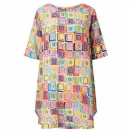 James Lakeland Print Point Dress
