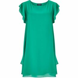 James Lakeland Ruffle Sleeve Dress