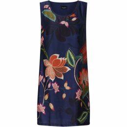 James Lakeland Sleeveless Print Dress
