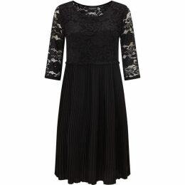 James Lakeland Pleated Lace Dress