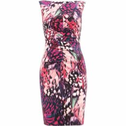 Damsel in a Dress Cinnabar Printed Dress