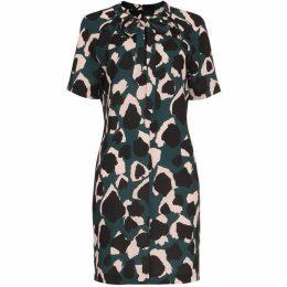 Damsel in a Dress Lola Camo Print Shirt Dress