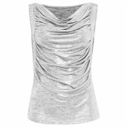 Damsel in a Dress Gia Foil Jersey Top