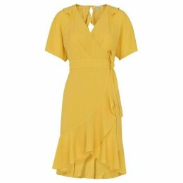 Whistles Abigail Frill Wrap Dress