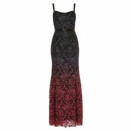 Phase Eight Azura Dip Dye Lace Dress