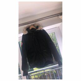 Black Synthetic Coat Chilliwack