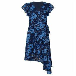 Yumi Soft Lace Asymmetric Dress