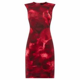 DKNY Floral sheath dress