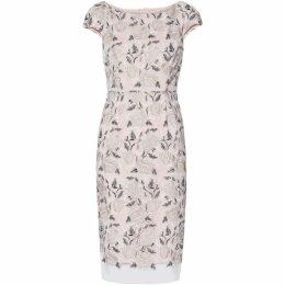 Gina Bacconi Leila Embroidered Dress