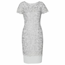Gina Bacconi Brianna Embroidery Dress