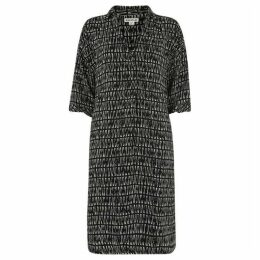Whistles Longline Sahara Print Dress