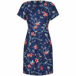 Yumi Tropical Dress With Pocket Detail