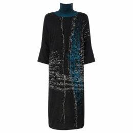 Crea Concept Colour mix knit dress