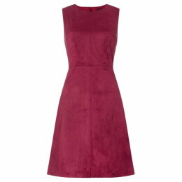 Adrianna Papell Round neck shift dress