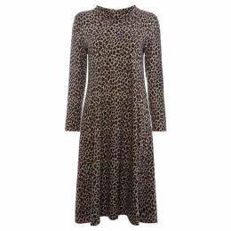 Max Mara Weekend High neck jersey dress