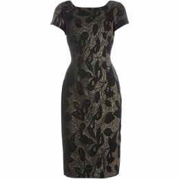 Adrianna Papell Printed shift dress
