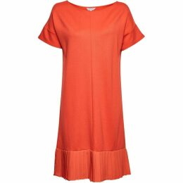 Great Plains Joelle Jersey Pleated Hem Dress