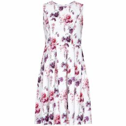 Yumi Occasion Flower Print Prom Dress
