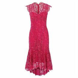 Karen Millen Peplum Hem Lace Dress