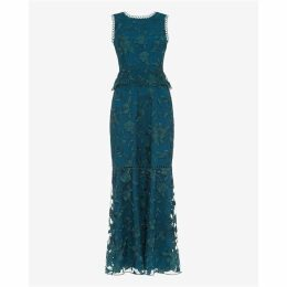 Phase Eight Rosetta Embroidered Dress